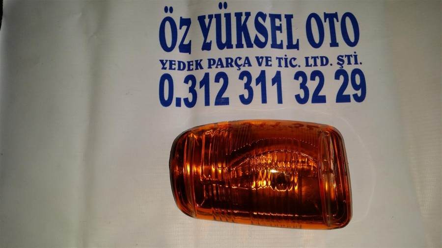 TRANSİTAYNA SİNYALİ-SOL SARI2014-