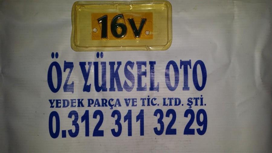 ESCORT16V YAZISI1995-2000