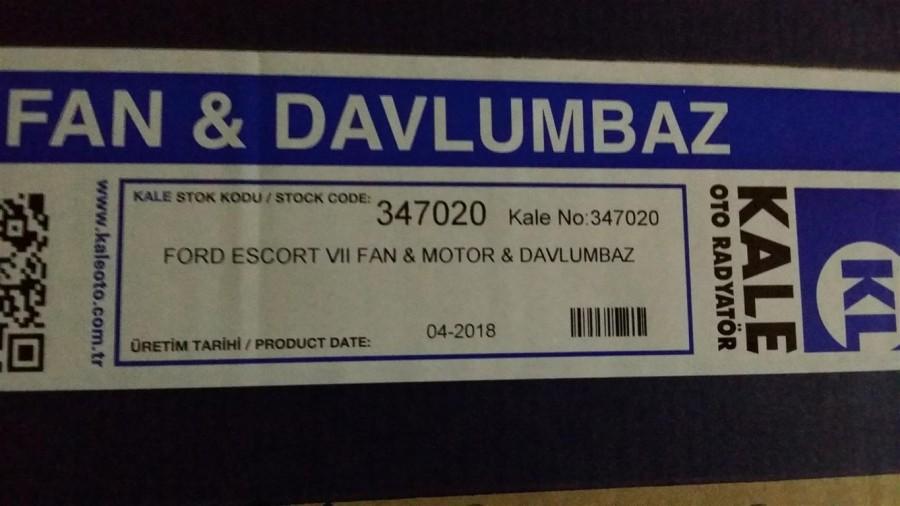 ESCORTFAN MOTORU(KLİMASIZ) 1995-2000
